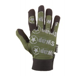 Gants Swap design olive