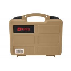 Mallette pour arme de poing tan - Nuprol-MAL756
