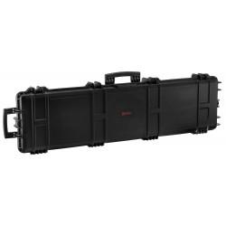Mallette XL Waterproof noire 137 x 39 x 15 cm mousse pré-découpée - Nuprol