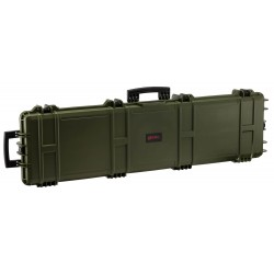 Mallette XL Waterproof OD Green 137 x 39 x 15 cm mousse vague - Nuprol