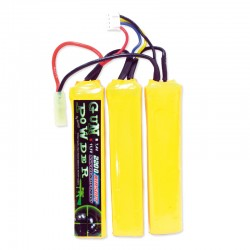 Batterie LiPo 11,1v 2200mah 3 sticks