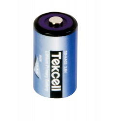 Pile 1/2 AA 3,6 volts - Tekcell