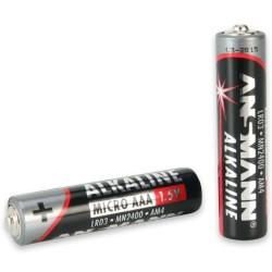 Piles alcalines LR03 AAA - Ansmann