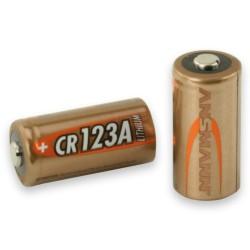 Pile Lithium CR123 3 volts - Ansmann