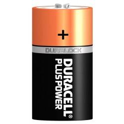 Piles alcalines D LR20 1,5 volt - Duracell