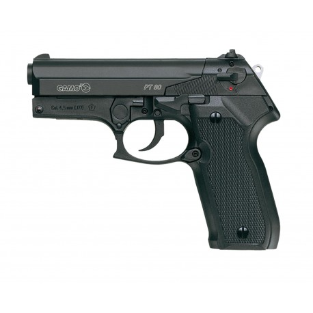 Pistolet CO2 GAMO PT 80 cal. 4,5 mm