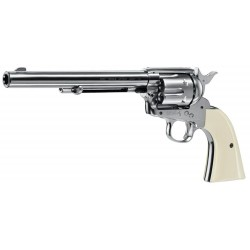 Revolver plomb Colt single action .45 nickel - UMAREX