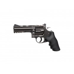Revolver Dan Wesson steel grey 4'' CO2 plomb - ASG