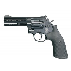 Revolver CO2 Smith & Wesson Mod 586 noir 4'' BB's cal. 4,5 mm