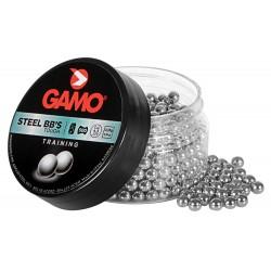 Boite de 500 billes acier Gamo BB's 4.5