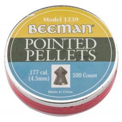 Boîte de 500 plombs 4. 5 mm têtes pointues beeman