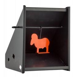 Porte-cible Beeman - Cartons et silhouettes métalliques