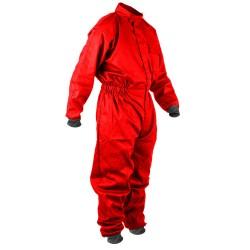 Combinaison tissu enfant rouge