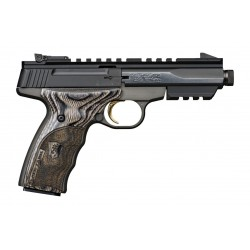 Pistolet de tir Browning Buck Mark Black Label Threaded .22 LR
