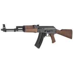Carabine réplique AK47 gsg47 crosse Bois cal 22lr 10 coups 1 chg