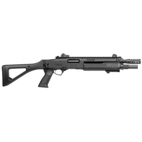 Fusil à pompe Fabarm STF 12 compact noir cal.12/76