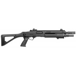 Fusil à pompe Fabarm STF 12 compact noir cal.12/76 18'' noir-FAR606