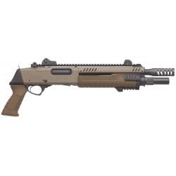 Pistolet à pompe Fabarm STF 12 SHORT - Flat earth 11'' - TAN-FAR700