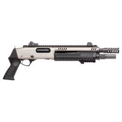 Pistolet à pompe Fabarm STF 12 SHORT - Nickel