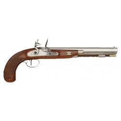 Pistolet Charles Moore Target à silex cal. 44-DPS306