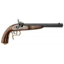 Pistolet de duel lepage Napoléon par Chiappa Noir Cal. 45'