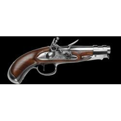 Pistolet An IX Gendarmerie à silex cal. 15,2 mm-DPS331