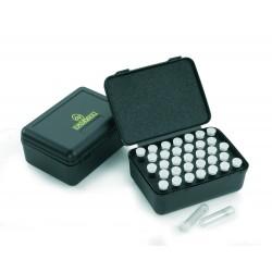 Boîte de rangement dosettes à poudre 40 dosettes 3.2 g / 50 gr-EN8712