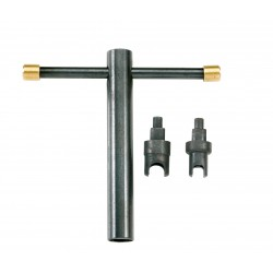Clef démonte cheminée Pedersoli longue adapt 5-7 mm