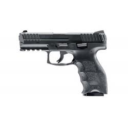 Pistolet CO2 H&K VP9 BB's noir culasse métal cal. 4.5 mm