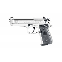 Pistolet CO2 Beretta M92 FS silver full metal cal. 4.5 mm