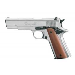 Pistolet 9 mm à blanc Chiappa 911 nickelé Pistolet à blanc Chiappa 911 nickelé-AB221