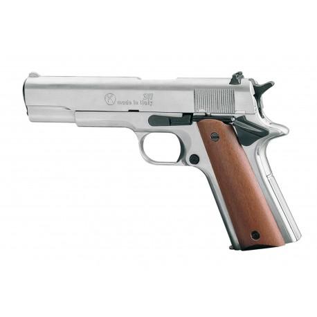 Pistolet 9 mm à blanc Chiappa 911 nickelé
