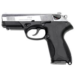 Pistolet 9 mm à blanc Chiappa PK4 bicolore noir/nickelé