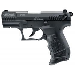 Pistolet 9 mm à blanc Walther P22 noir Pistolet à blanc Walther P22 noir-AB122