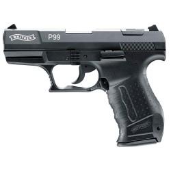 Pistolet 9 mm à blanc Walther P99 bronzé