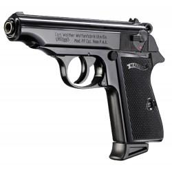 Pistolet 9 mm à blanc Walther PP noir