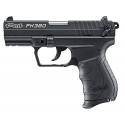 Pistolet 9 mm à blanc Walther PK380 noir