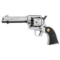 Revolver 9 mm à blanc Chiappa Colt SA73 nickelé