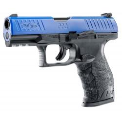 Pistolet CO2 Walther PPQ M2 T4E noir/bleu cal. 43