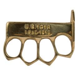 Poing US 1918 plein ou percé avec pointes laiton
