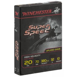 Cartouches Winchester Super Speed - Cal. 20/70 SPEED, culot de 16, N°7-MW1207