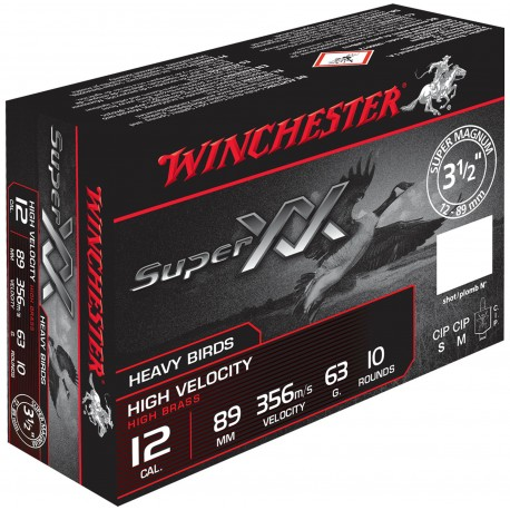 Cartouches de chasse Winchester Super XX Magnum Cal. 12-89
