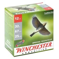 Cartouches Winchester Spécial Migrateur 12/67