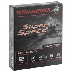 Cartouches Winchester Super Speed - Cal. 12/70 SPEED, culot de 20, N°0-MW1120