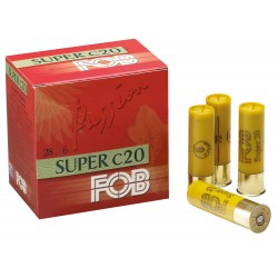 Cartouches Fob Passion Super - Cal. 20/70 FOB PASSION SUPER Cal.20-70, culot de 16, 28 gr, N°6-MF7246