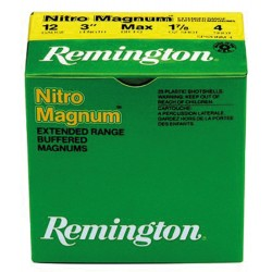Cartouches Remington Nitro Magnum longue distance Cal. 12/76