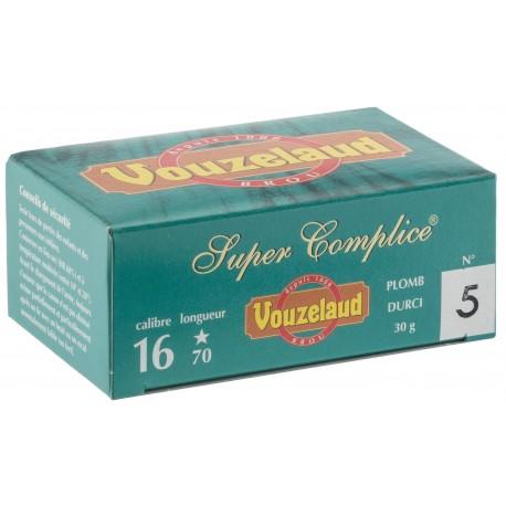 Cartouches Vouzelaud - Super Complice 70 - calibre 16/70