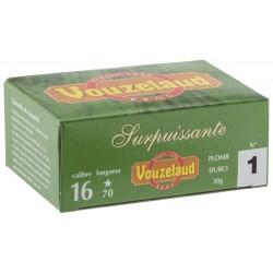 Cartouches Vouzelaud - Surpuissante - calibre 16/70