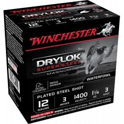 Winchester Drylock Acier nickelé Cal. 12-76 ou 12-70