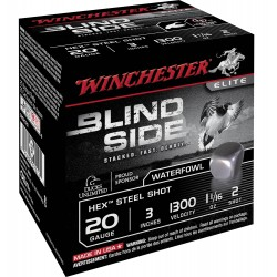 Cartouches Winchester Blind Side Cal. 20/76